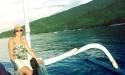 leni bali urlaub alleinreisend frau glücklich leben liebe asien indonesien lebemintgrün