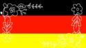 deutschlandflagge frauen EM fußball münchen munich blog leni lebemintgrün